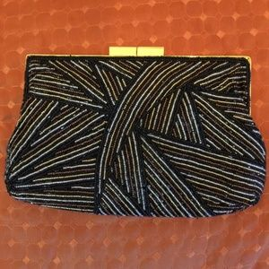 Andre Cellini Beaded Shell Evening Purse
